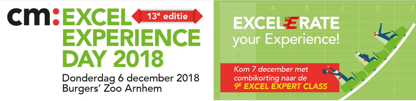 Excel Experience Day 2018